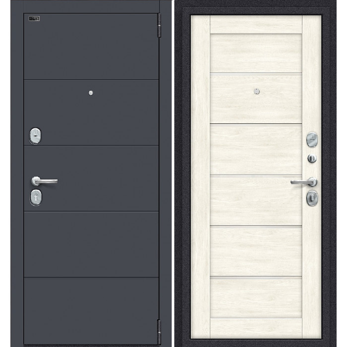 Porta S 4/Л22 Графит Про/ Нордик Оак