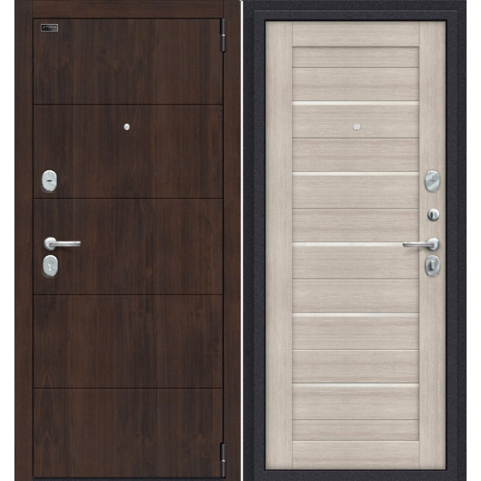 Porta S 4/П22 (Прайм) Алмон 28/ Капучино Вералинга