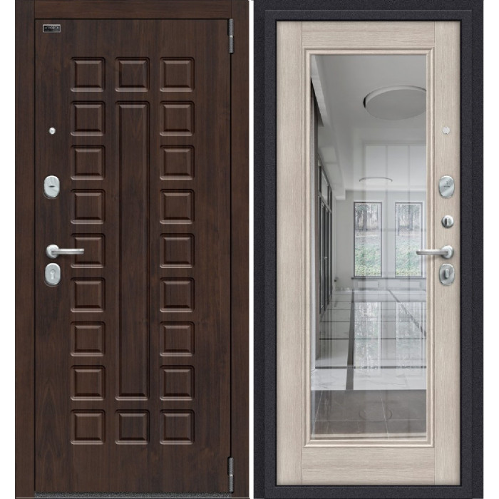 Porta S 51/П61 (Урбан) Алмон 28/ Капучино Вералинга
